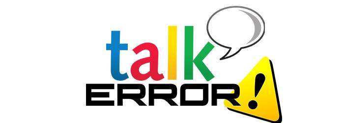 Не удалось войти в Google Talk