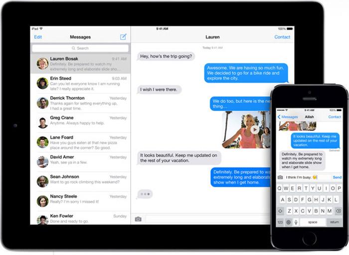 iMessage на iPhone скачать