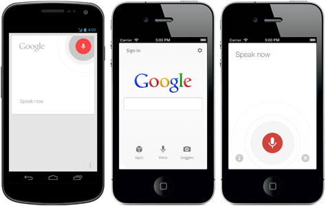 Google Voice Search Android версия