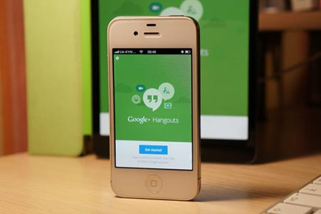 Как отключить Hangouts на Android