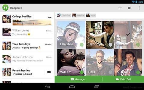 Hangouts скачать для Android