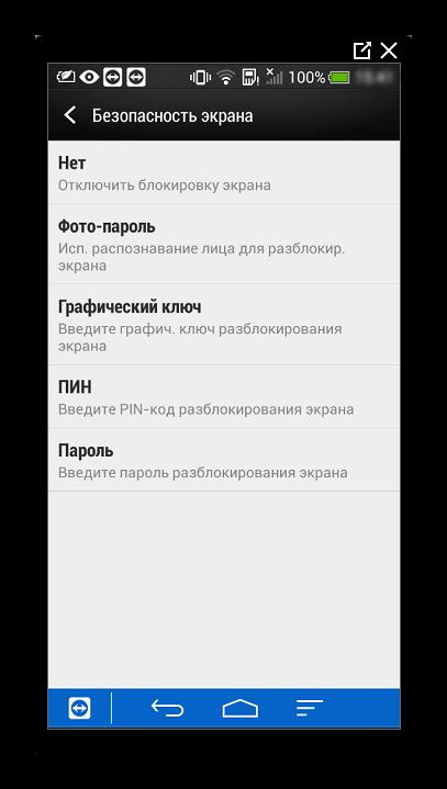 Способы блокировки экрана в Android