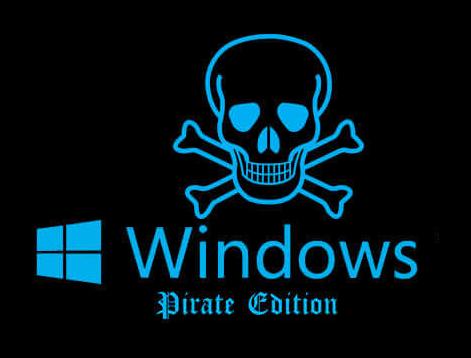 Пиратский виндовс вредит работе ПК