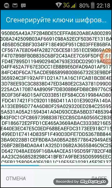 Процесс генерации ключей шифрования в Виполе