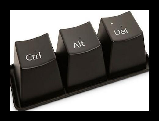 Сочетание клавиш Ctrl-Alt-Delete