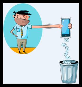 Спам засоряет не только смартфон, но голову