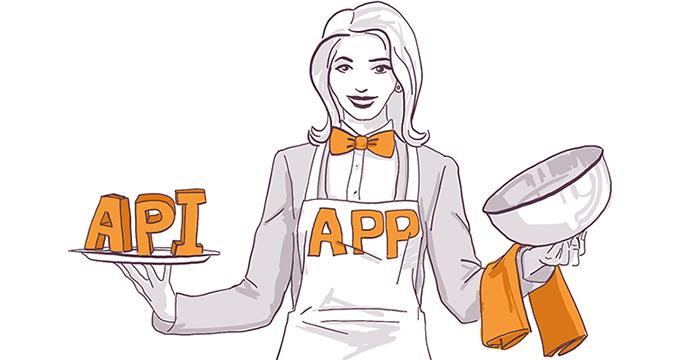 API и APP