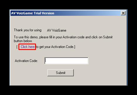 Активация демо версии AV VoizGame для изменения голова Discord