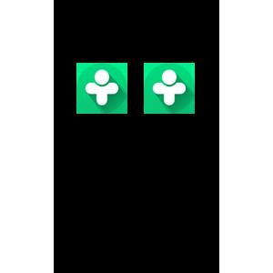Использовать два Друг Вокруг на одном телефоне