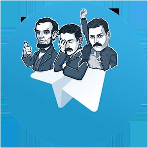 Как создать и установить стикеры в Telegram