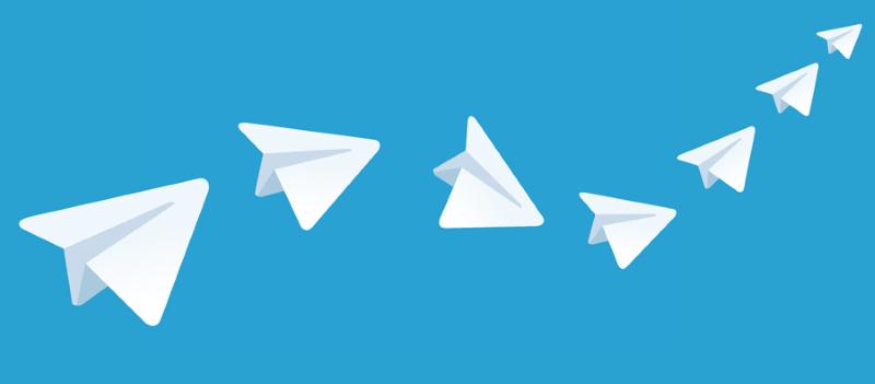 Огромная популярность Telegram