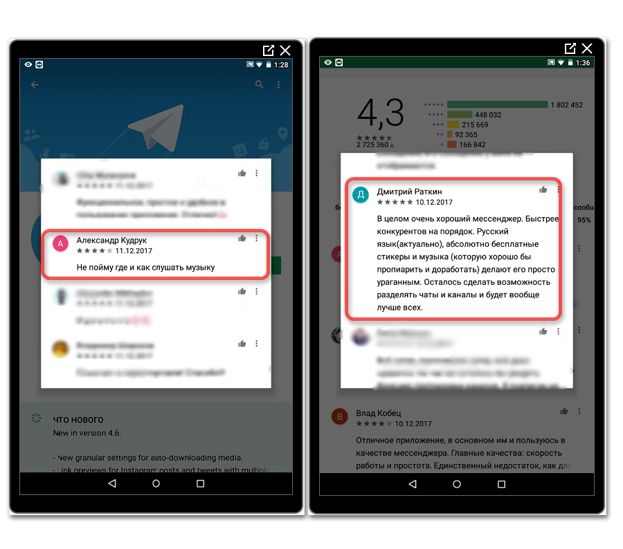 Скрытый функционал мессенджера Телеграмм