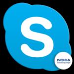 Логотип Skype для Nokia