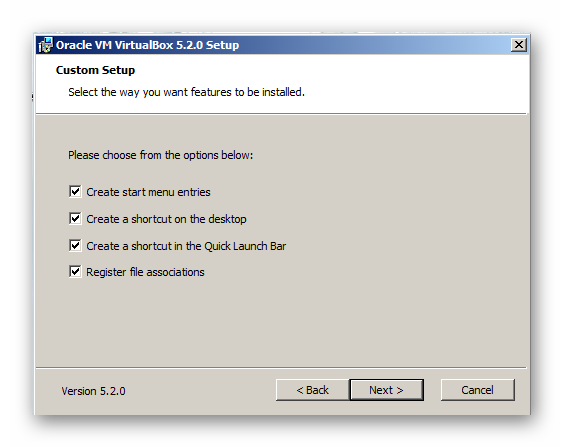 Создания ярлыков VirtualBox для сокрытия статуса Вконтакте через приложение Kate Mobile на компьютере