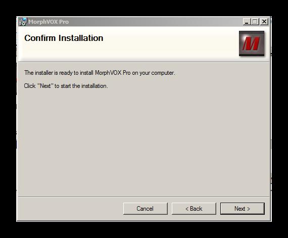 Установка приложения MorphVox Pro для Дискорд