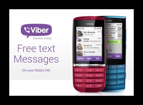 Версии Viber для обмена сообщений на кнопочном телефоне