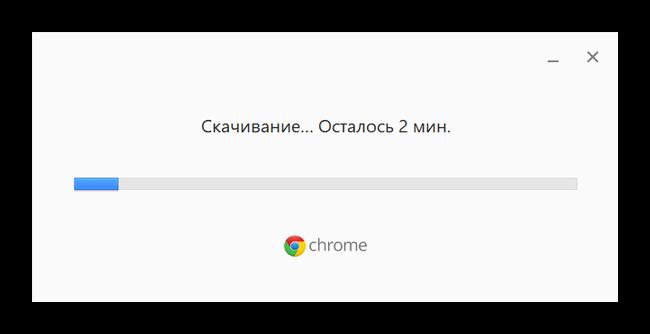 Загрузка и установка дистрибутива Google Chrome