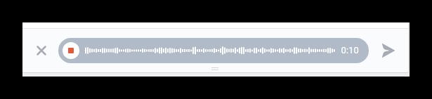 Записывание трека для распознавания музыки через бот AudD Вконтакте