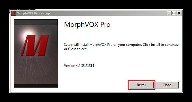 Запуск установки MorphVox Pro для изменения голоса Дискорд