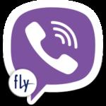 Логотип Viber для Fly