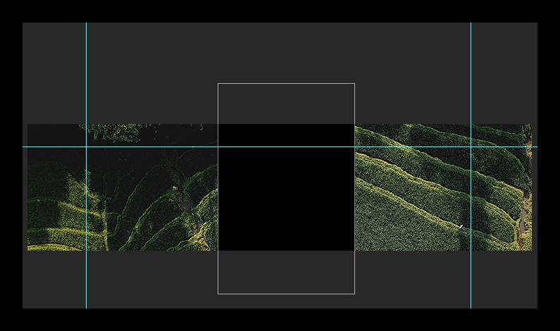 Создание прямоугольника в adobe photoshop для сообщества вконтакте