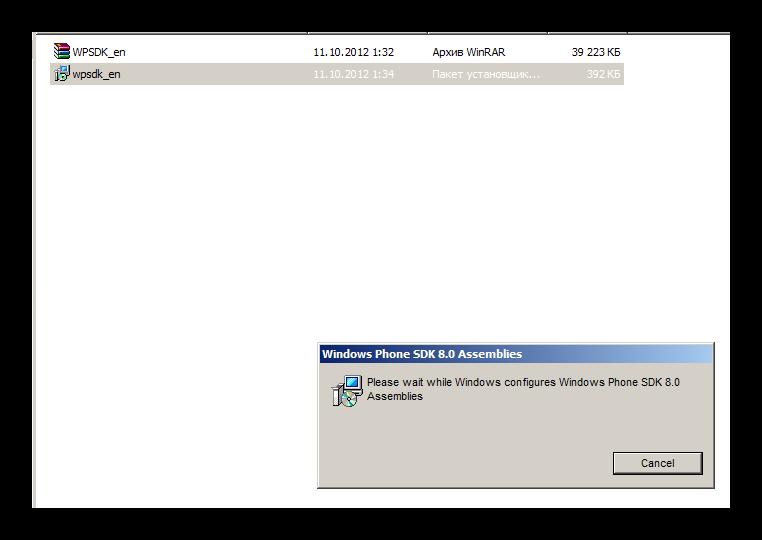 Запуск установки wpsdk_en.msi для дальнейшей установки ДругВокруг