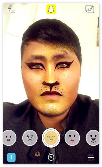 Эффекты Snapchat