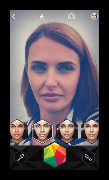 Фильтры Snapchat