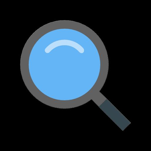 Иконка поиска и анализа групп ВКонтакте