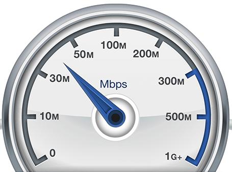 Иконка проверки скорости интернет-соединения