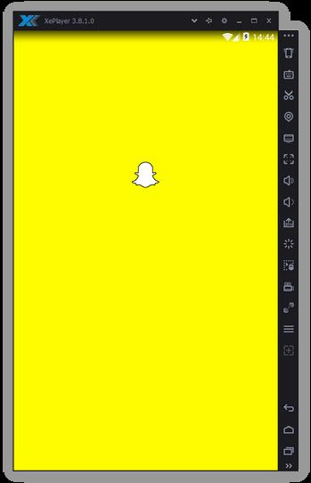 Snapchat на эмуляторе