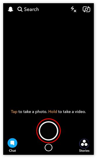Снимки Snapchat