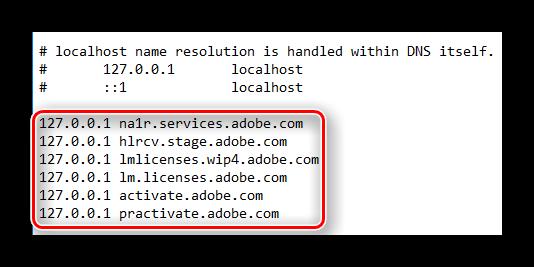 Список заблокированных сайтов в файле hosts