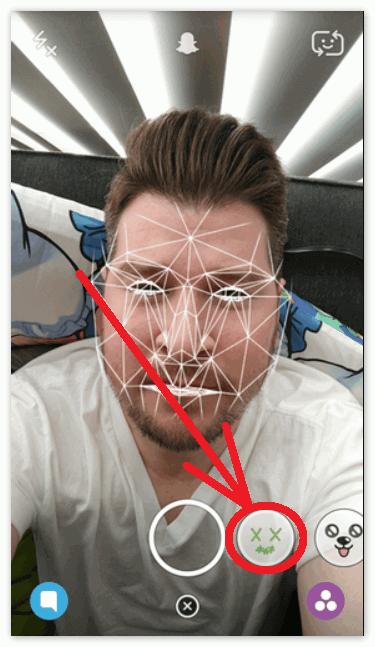 3D линзы Snapchat в Lumia