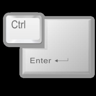 Ctrl Enter