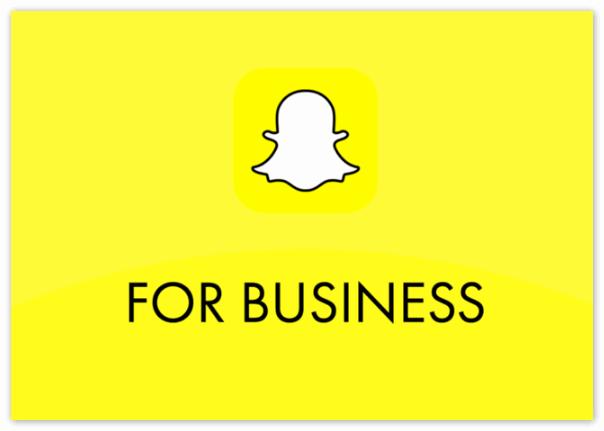 Для бизнеса Snapchat