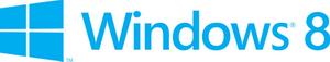 Горизонтальный лого Windows 8