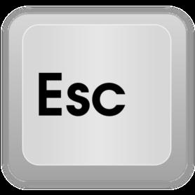 Клавиша Escape
