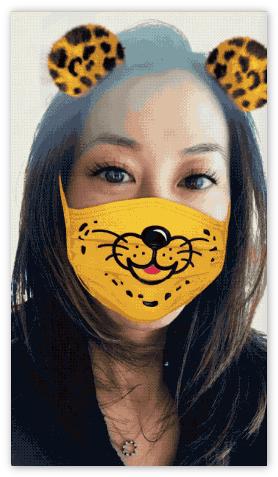 Линза Snapchat