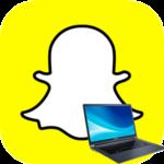Snapchat в ноутбуке