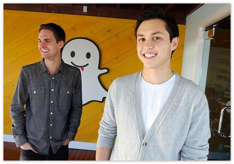 Создатели Snapchat