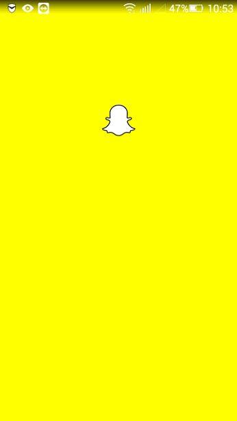 Запуск Snapchat