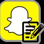 Регистрация нового аккаунта в Snapchat
