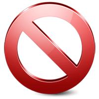 Запрещено иконка
